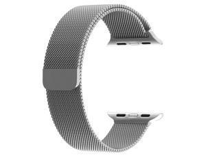 Magnetic Milanese Loop Metal Watch Strap Apple Series 4 40mm/Series 3 2 1 38mm