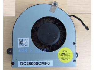 Notebook CPU Cooling Cooler Fan For DELL ALIENWARE M17X R3 R4 XVXVH 0XVXVH By FORCECON DC28000CMF0 DFS531205HC01 FC7U