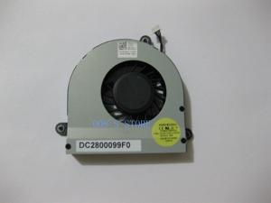 Laptop CPU Cooling Cooler Fan For Dell Alienware M17X R3 R4 M17XR By FORCECON DFS531205HC01 DC2800099F0 DP/N 0GVHX3 4 Pin