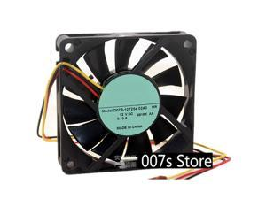 New Radiator Cooling Cooler Fan For Nidec 7015 DC12V 0.10A D07R-12T2S4 70x70x15mm TWO Ball Bearing 20CM(LINE) 3Pin 2800