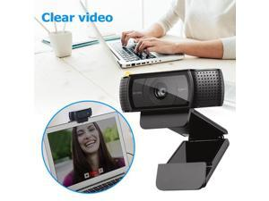 C920 Video Recording Auto Focus Webcam With 2 built-in Microphone Logi Full HD 1080P 60 fps Camera For Laptop/PC