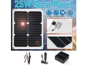 Solar Cells Charger Double USB Output Solar Panel Poly Solar Panel Module Portable Solar Panels For Battery Cell Phone Chargers