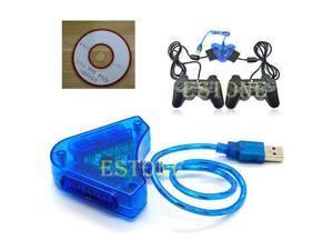 1Pc For PS2 PSII DDR Playstation to USB PC Adapter Converter N