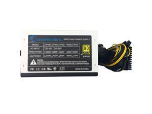 12V PSU 600W power supply Desktop 600W ATX PSU 600W PC Power Supply LED Gaming 120MM Fan PC Power computer PSU ATX 24pin SATA