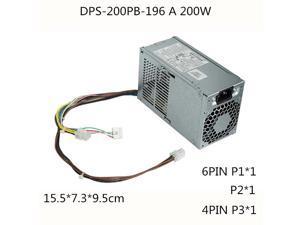 200W Server Power Supply 200W PSU DPS-200PB-196 A PCE011 D14-200P2B PCE014 796421-001 796419-001 DPS-200PB-196A PCE014 6PIN