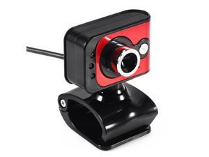 20MP USB 2.0 HD Webcam Camera 3 LED WebCam Built-in MIC Clip On For PC Computer