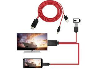 Micro USB to HDMI Cable 1080P MHL HDTV Cable Adapter Converter for Samsung Huawei Sony HTC LG