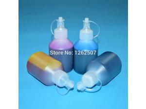 For hp ink refill kit for hp 685 dye ink deskjet advantage 3525 5525 4615 4625 6525 printer refill 2sets