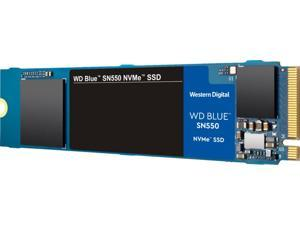 WD Blue SN550 NVMe 500GB Internal PCI Express 3.0 x4 Solid State Drive for Laptops with 3D NAND Technology