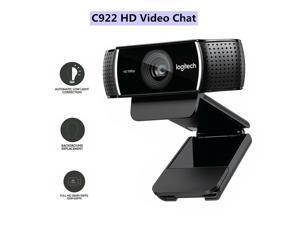Logitech C922 1080p Webcam Multi-platform Web Camera Calling Office Home autofocus built-in microphone full HD anchor webcam