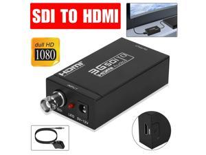 SDI to HDMI Coaxial Cable Over BNC Converter 1080P 3G HD Audio Video Box Adapter
