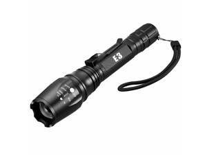 Shadowhawk CREE 12000LM T6 5Modes 18650 LED Flashlight Zoomable Military Torch