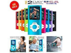 64GB Portable MP3 MP4 Player iPod Slim Music Video Audio Gadgets