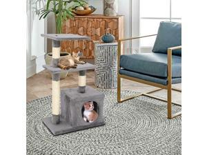 Climbing Pet Toy Cat Tree Scratcher Scratching Post House Play Kitty Rest