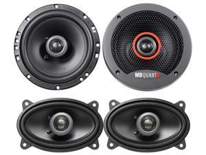 "2   FKB116 6.5"" 240 Watt 2-Way Car Speakers+2 4x6"" 180w Speakers"
