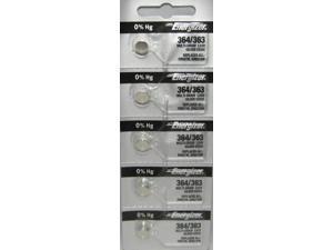 5 Pack Fresh targetmallx Silver Oxide WATCH Battery 1.55v CR 364 363 SR621 SR621SW