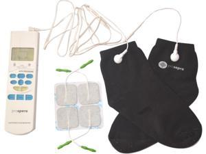 DL003 Prospera FDA approved TENS Socks Electronic Pulse Massager, good for full body, improve  blood circulation in legs and feet, reduces pain from arthritis