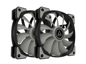Montech Air Fan P120, 120mm Fan 2 in 1, 4Pin PWM, Durable Low Noise FDB System, High Cooling Performance, High Performance Fan Blades, Proprietary Enhanced Fan Frame