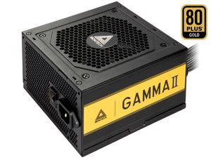 Montech Gamma ll 550W, 80+ Gold Certified PSU, LLC+DC to DC Technology, High Quality Components, 100% Japanese Capacitors, Silent Fan, High Performance, Full flat cables, 5 Years Warranty