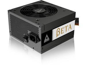 Montech BETA 550W 80+ Bronze Certified Power Supply, High Quality Components, Main Japanese Capacitors, Silent Fan, Continuous Power, High performance, 3 Years Warranty