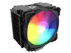 Montech AIR COOLER 210, 210W TDP, ARGB CPU Cooler, Massive Cooling Power, Six Heat Pipes, All Black