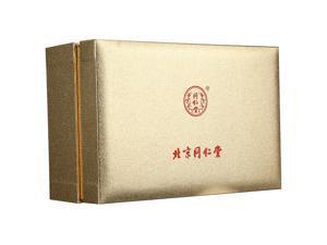 Beijing Tongrentang Dendrobium officinale gift box with 80g * 2 bottles of maple bucket Earrings dendrobium stem strip gift bag