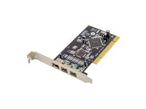 Plugadget PCI to 1394A+1394B FireWire card 2 Ports 9Pin 1394B+1 Port 6Pin 1394A PCI Controller Card TI Chipset