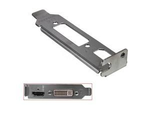Low Profile Bracket Adapter HDMI & DVI Port For Half Height Graphic Video Cards SAPPHIRE EVGA ASUS Palit