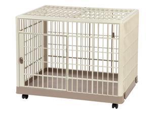 IRIS Extra Small Plastic Animal Cage, Tan