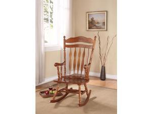 Kloris - Rocking Chair Dark Walnut