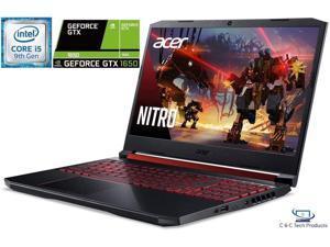 "Acer Nitro 5 15.6"" Full HD IPS Gaming Laptop, 9th Gen Intel Core i5-9300H,16GB DDR4,256GB SSD,4GB Nvidia GeForce GTX 1650  Wifi-AC,Bluetooth,HDMI,Windows 10 Home"