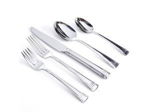 Gibson Cordell 20 Piece Flatware Set