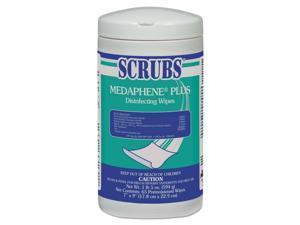 SCRUBS Disinfectant,Wipe,Medphne 96365