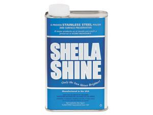 Sheila Shine - SS32 - Stainless Steel Cleaner & Polish, 1qt Can, 12/Carton