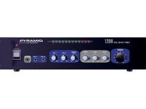 New Pyle Pa205 120W Professional Mic Mixer/Amplifier Amp 120 Watt