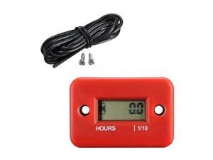 Digital Hour Meter for Motorcycle Bike ATV Snowmobile Boat Ski Dirt Gas Engin DP