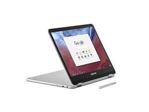 "SAMSUNG Chromebook Plus XE513C24-K01US Chromebook OP1 Hexa-core (Dual A72, Quad A53) 2.00 GHz 4 GB Memory 32 GB eMMC SSD 12.3"" Touchscreen Chrome OS"