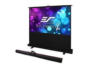 "Elite Screens ezCinema 2 F107XWH2 Projection Screen - 107"" - 16:9 - Free Standing"