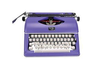 Royal 79119Q Classic Manual Typewriter, Purple