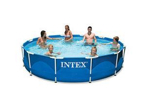 "Intex 12' x 30"" Metal Frame Pool"