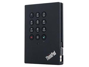 Lenovo ThinkPad 2TB USB 3.0 Portable Secure External Hard Drive 4XB0K83868