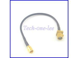 RF Coaxial Cable Fakra K Plug to SMB Jack GSM Antenna Extension Cord Connector Pigtail Cable RG174 15CM