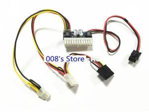 NEW Power Supply Module Switch For PCI-E 6pin Input DC ATX 250W 24pin ITX High ITX Z1 Pico PSU Car Auto Mini Computer