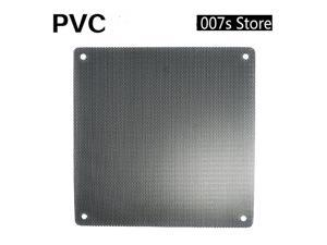 NEW Cooler Fan Dust Filter 5 Pieces FOR 14cm x 14cm Cuttable Computer Filter 140mm PC Case Strainer Dustproof Mesh