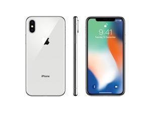 Apple iPhone X 64GB - Silver - Apple Care Plus