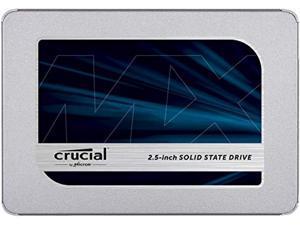 "Crucial MX500 500GB 3D NAND SATA 2.5 Inch Internal SSD, up to 560MB/s - CT500MX500SSD1  and  Corsair Dual SSD Mounting Bracket 3.5"" CSSD-BRKT2, Black"