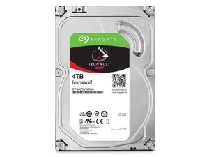 "Seagate IronWolf ST4000VN008 - Hard drive - 4 TB - internal - 3.5"" - SATA 6Gb/s"