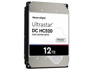 HGST Ultrastar He12 0F30144 12TB 7200RPM SATA 6GB/s 512E ISE Internal Hard Drive