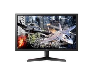 "LG 24GL600F-B 24"" Full HD 1920 x 1080 1ms (GTG Faster) 144 Hz HDMI, DisplayPort FreeSync (AMD Adaptive Sync) Gaming Monitor"