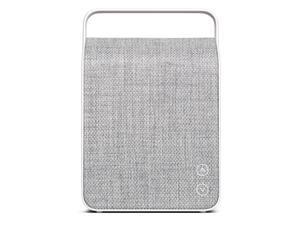 Vifa Oslo Compact Rechargeable Hi-Resolution Bluetooth Portable Speaker- Pebble Grey